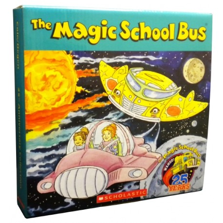 The Magic School Bus 25th Anniversary Box Set 12 Books【Age 5+】- Paperback