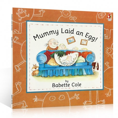 Mummy Laid an Egg【Age 5+】- Paperback