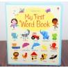Usborne - My First Word Book