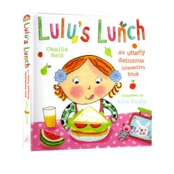 Lulu's Lunch : An utterly delicious interactive book - Touch and Feel Book【Age 3+】- Hardcover