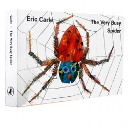 Eric Carle The Very Busy Spider【Age 3+】- Board Book