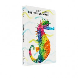 Eric Carle : Mister Seahorse【Age 3+】- Board Book
