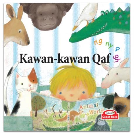 Kawan-kawan Qaf (phonics : ng ny q gh) - Hardcover