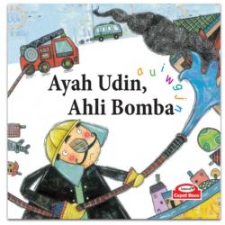 Ayah Udin Ahli Bomba (phonics : a u I w g j n) - Hardcover
