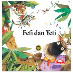Fefi dan Yeti (phonics : y c v f e e) - Hardcover