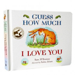 【UK Version】 Guess How Much I Love You【Age 0-3】- Board Book