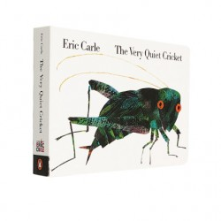 Eric Carle : The Very Quiet Cricket【Age 3+】- Board Book