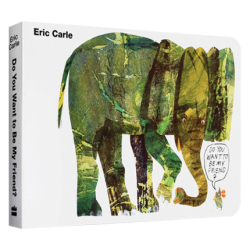 Eric Carle : Do You Want To Be My Friend?【Age 3+】- Board Book
