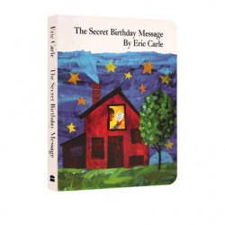 Eric Carle : The Secret Birthday Message【Age 3+】- Board Book