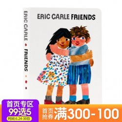 Eric Carle : Friends【Age 3+】- Board Book