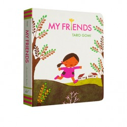 Taro Gomi : My Friends【Age 3+】- Board Book