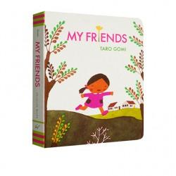Taro Gomi : My Friends【Age 3+】- Board Book