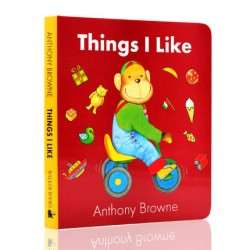Things I Like【Age 3+】- Board Book