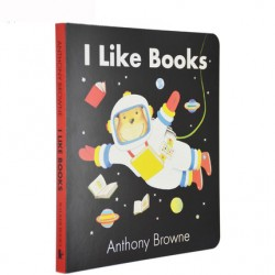 I Like Books【Age 3+】- Board Book