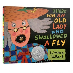 There Was an Old Lady Who Swallowed a Fly【Age 5+】 - Hardcover