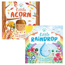 Nature Stories : Little Raindrop + Little Acorn【Age 5+】 - Hardcover