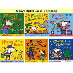 [Warehouse Sale - Defect] Maisy's Sticker Books Collection (6 Books) - Paperback