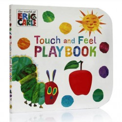 The Very Hungry Caterpillar: Touch and Feel Playbook : Eric Carle【Age 0-5】- Board Book