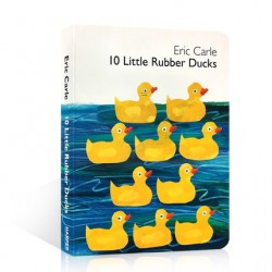 10 Little Rubber Ducks : Eric Carle【Age 0-5】- Board Book