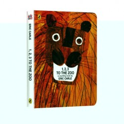 123 to the Zoo : A Counting Book (UK version)【Age 0-5】- Board Book