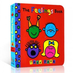 The Feelings Book [Age 3 above] - Board Book