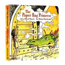 The Paper Bag Princess [Age 3-6] - Boardbook