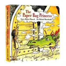 The Paper Bag Princess [Age 3-6] - Boardbook