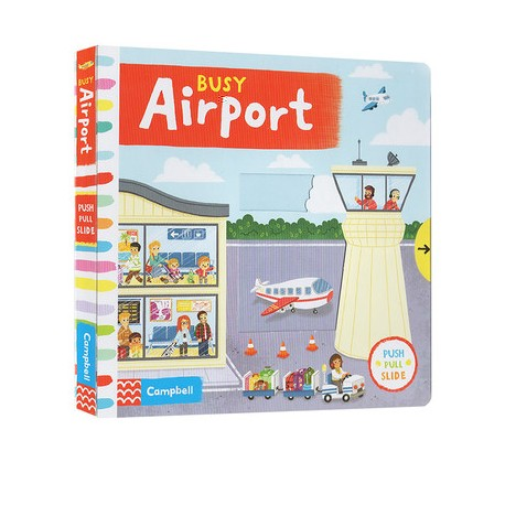Busy Airport [Age 3-6] - Boardbook