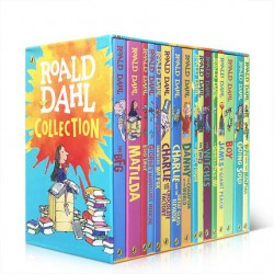 Roald Dahl Collection (16 Books)【Age 9+】- Paperback