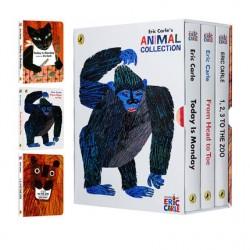 Eric Carle's Animal Collection (3 Books)【Age 0-5】- Boardbook
