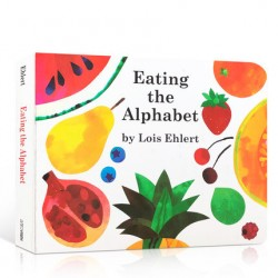 Eating the Alphabet [Age 3-6] - Boardbook