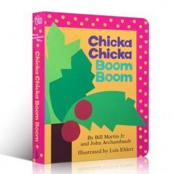 Chicka Chicka Boom Boom [Age 0-6] - Boardbook