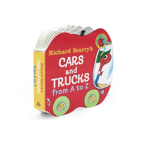 Richard Scarry Cars and Trucks from A to Z [Age 0-3] - Board book