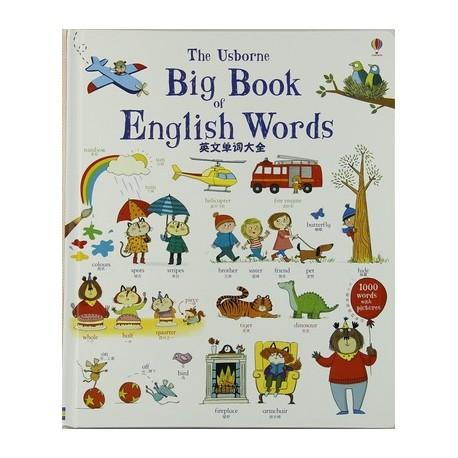 Usborne - Big Book of English Words (Chinese English 中英双语)