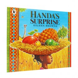 Handa's Surprise【Age 3+】- Paperback with DVD