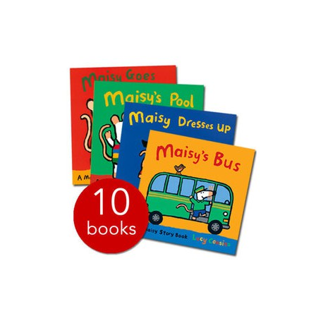 Maisy's Story Book (10 books per pack) - by Lucy Cousins (UK)