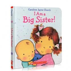 I Am a Big Sister【3-6 years】- Hardback