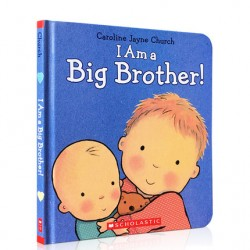 I Am a Big Brother【3-6 years】- Hardback
