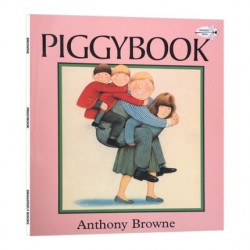 Piggybook - Anthony Browne【Age 3-8】- Paperback