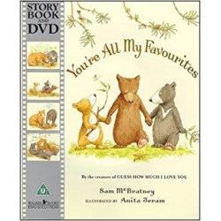 You're All My Favourites【Age 3-8】- Paperback with DVD