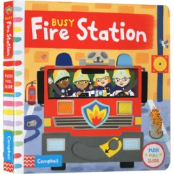 Busy Fire Station [Age 3-6] - Board book