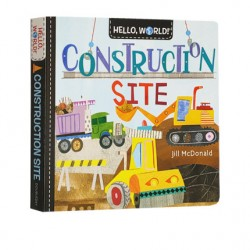 Hello, World! Construction Site [Age 3-6] - Board book