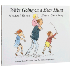 We're Going on a Bear Hunt【Age 3+】- Paperback