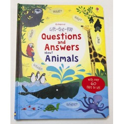 [Pre-Order] Usborne - Lift-the-flap questions and answers about animals