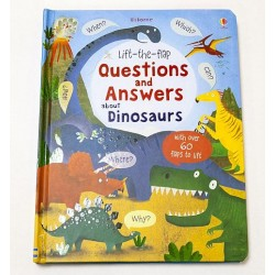 [Pre-Order] Usborne - Lift-the-flap questions and answers about dinosaurs