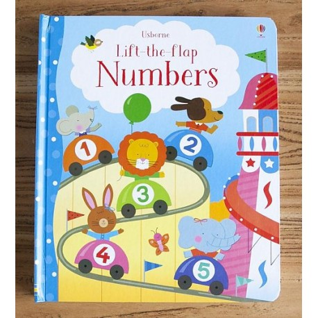 [Pre-Order] Usborne - Lift the flap Numbers