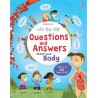 [Pre-Order] Usborne - Lift the flap questions and answers about your body