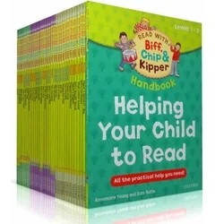 Oxford Reading Tree - Biff, Chip and Kipper Levels 1-3 Collection 33 Books Set