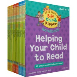 Read with Biff, Chip and Kipper Levels 4-6 Collection 25 Books Set - Free Shipping