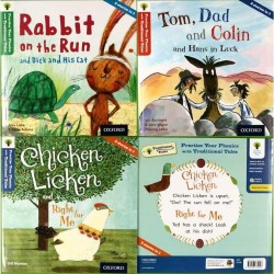 Oxford Reading Tree Traditional Tales: Level 2, 3 & 4 (Pack of 3) - Free Shipping